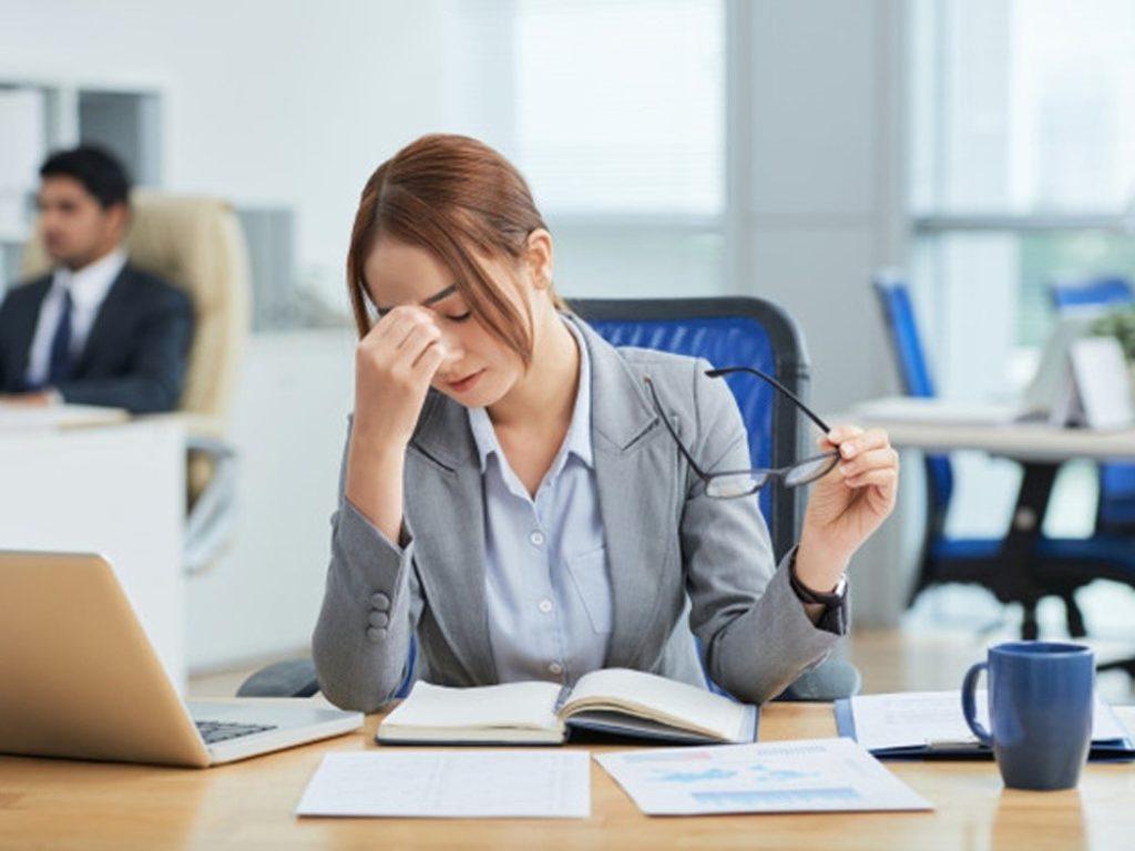 13 sinais que você está muito estressado
