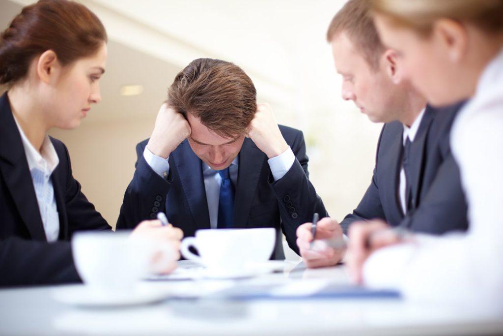 Aprenda a lidar com o fracasso no trabalho