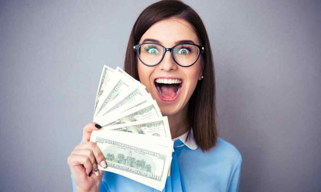 Felicidade associada ao dinheiro